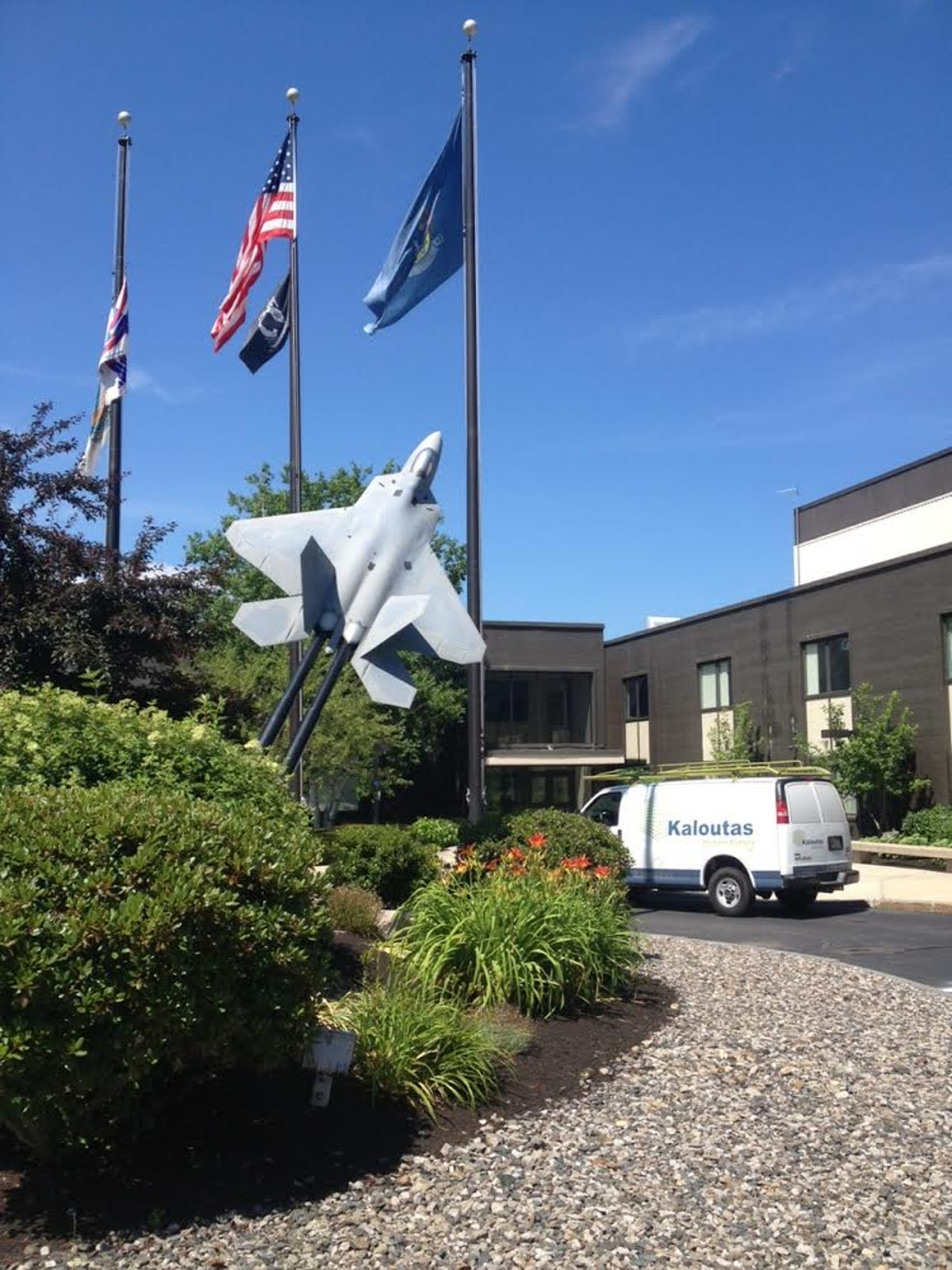 Commercial Painting and Flooring for Pratt & Whitney - South Berwick, Maine
