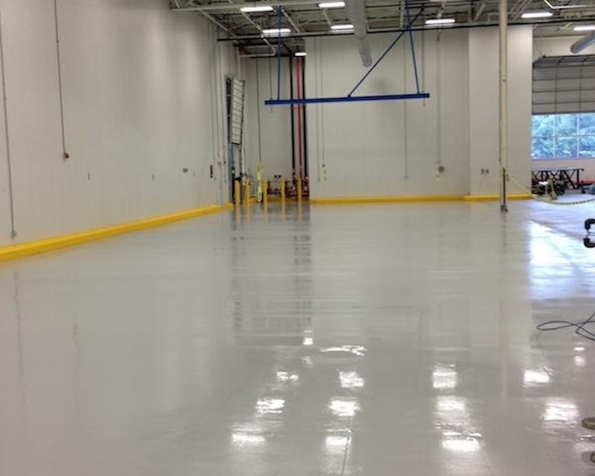 Adding Epoxy-Coated Floors in Tewksbury, MA