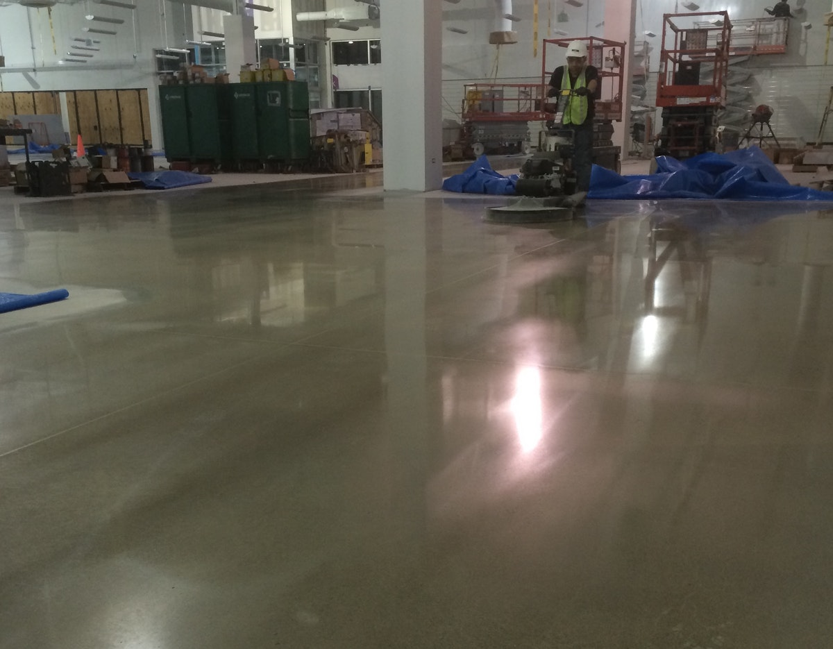 Are You Caring for Your Polished Concrete Floors the Right Way?