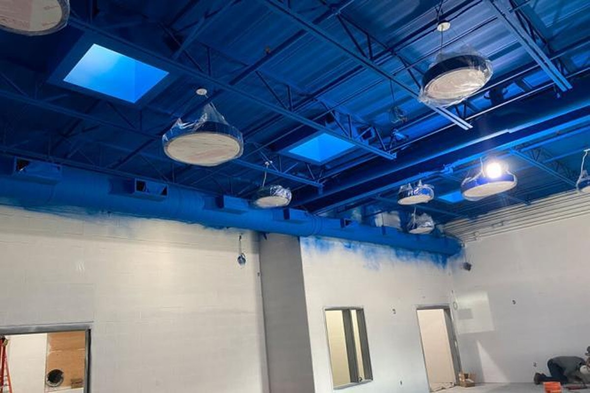 Damaged fireproofing on a ceiling What Happens when Fireproofing Gets Damaged and How to Fix It