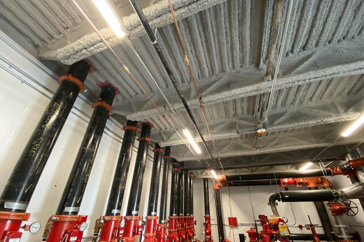 Steel beams after fireproofing Why You Should Fireproof Steel Beams in Your Commercial Property